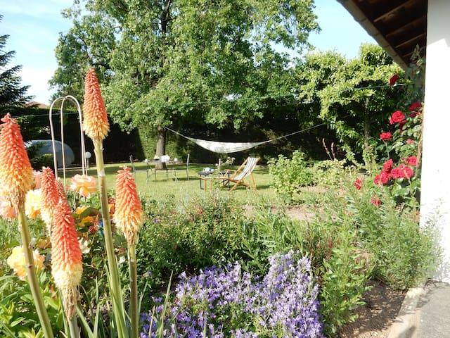 le jardin, espace détente