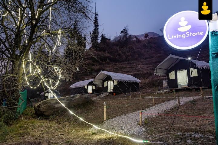 LivingStone Countryside Camping | Jibhi | Tents |