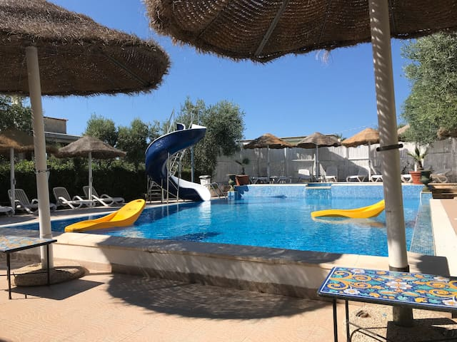 Appartamento a Vieste in Residence con piscina
