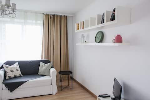 Квартира в эко районе со свежим ремонтом