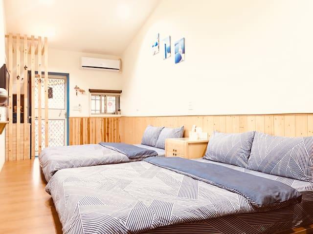 七星潭。想念海小屋。體驗在地溫馨小屋~每次只接待一組房客~