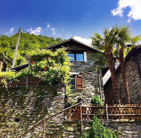 Casa Quincy - exquisites Rustico  - Valle Verzasca