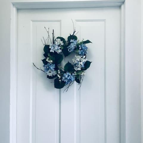 Blue Hydrangea Room