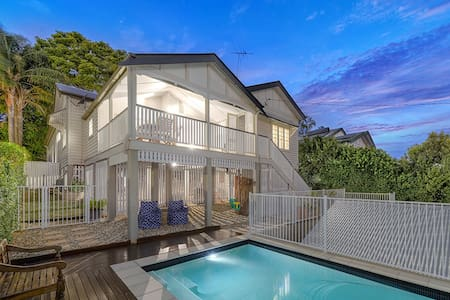 Clean - Convenient - Views - Private Pool & Yard - Wooloowin