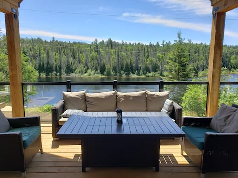 NEW 3 bedroom stunning cottage on Montreal River