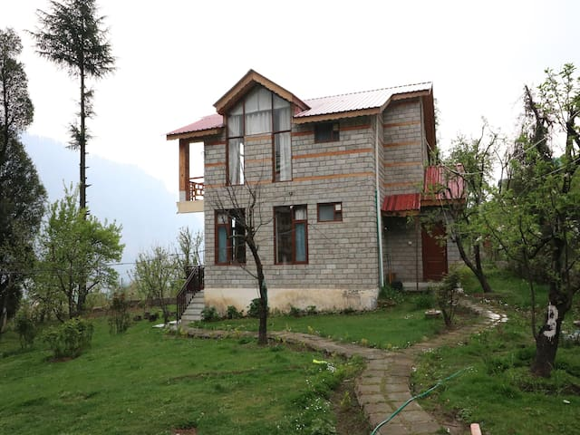 1 BHK Home Studio With Apple Orchids, Manali(On Sale) ✅