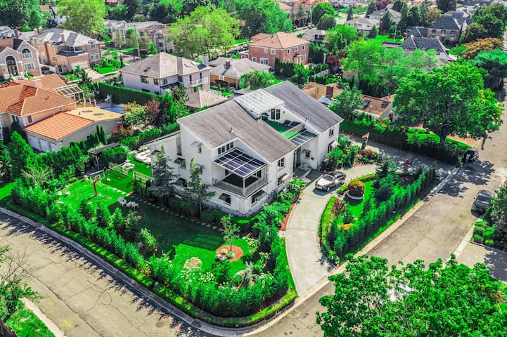 Birdseye view of your home