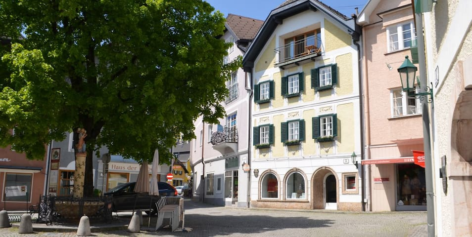 historic center in Gmunden - Gmunden - Leilighet