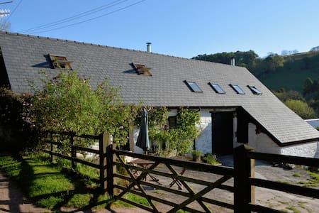 Romantic Barn Loft on a Welsh Hill Farm