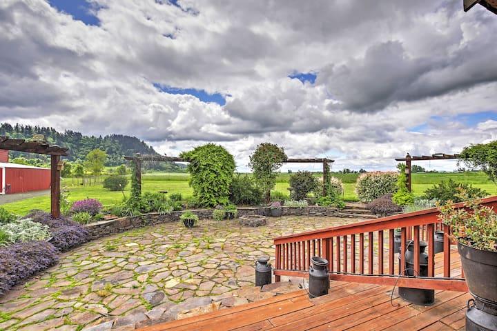 Rural 3BR Eugene Cottage w/Serene Views!