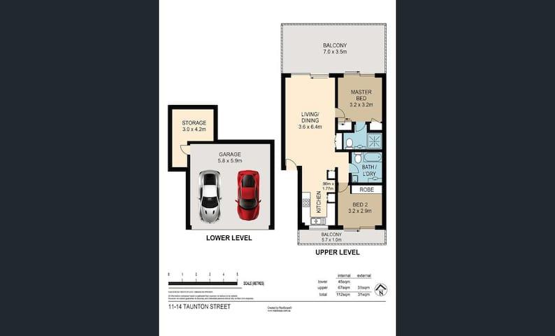 Inner city comfort - Annerley - Appartement