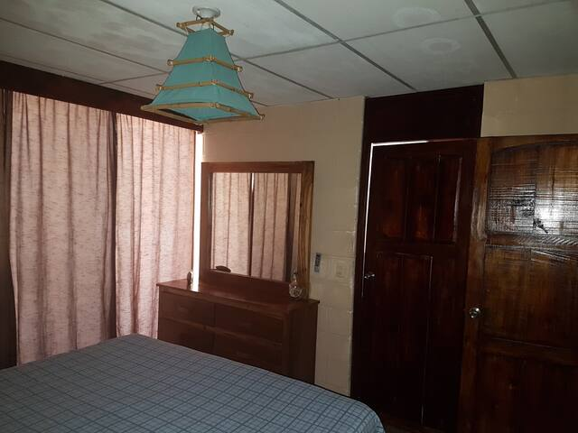 master Bedroom, Pool side walk-out, A/C, large closet Jack and Jill bathroom... NEW DOORS !