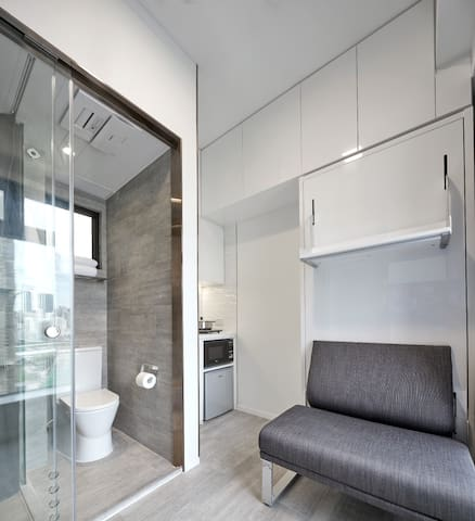 Happy Valley-Furnished Serviced Studio WithTERRACE