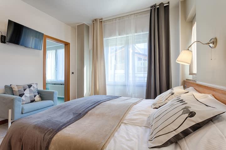 Vignola Rooms 105 con bagno finestrato