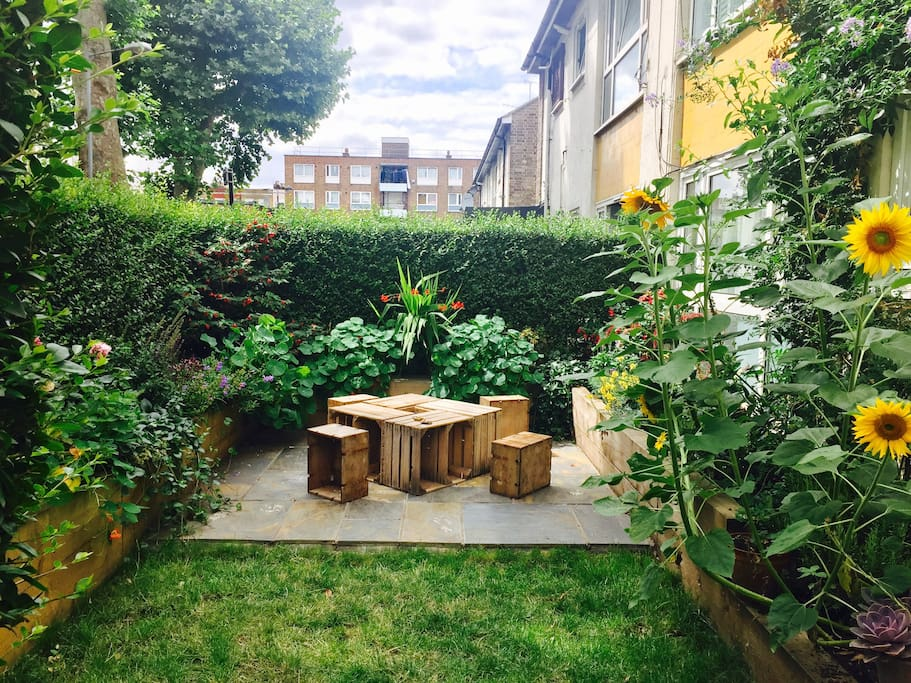 Private Garden with BBQ which you are welcome to use