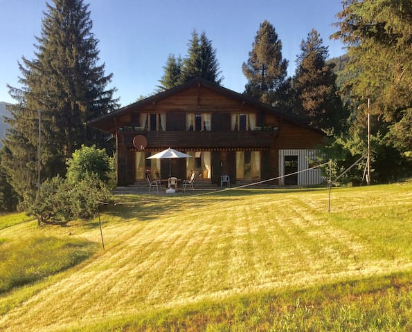 2-3 Bed Room, simple & cosy in famous Gstaad (B&B)