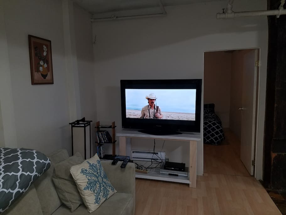 Big TV with Netflix & Movies