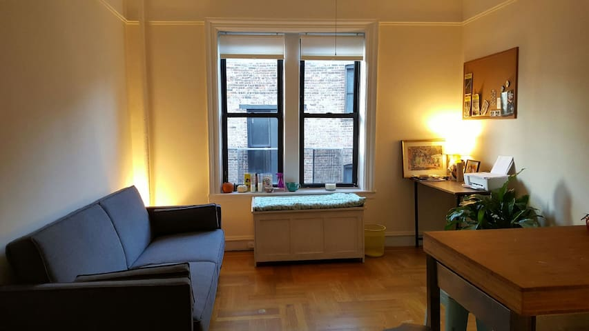 Spacious, quiet 1 br apt in beautiful Inwood!