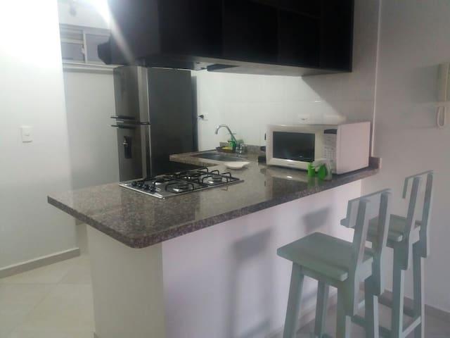 Apartamento 2 habitaciones - San Gil - Appartement