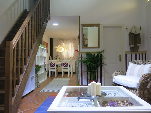 Charming duplex with parking in Barrio Salamanca - Madrid - Hus