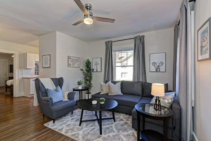 Newly Renovated Trolley Townhome Walk to Downtown!