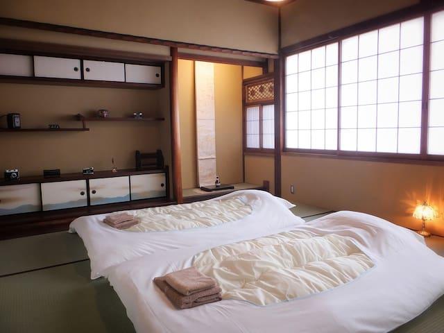 Kyoto Guesthouse Bokuyado Deluxe Japanese Room