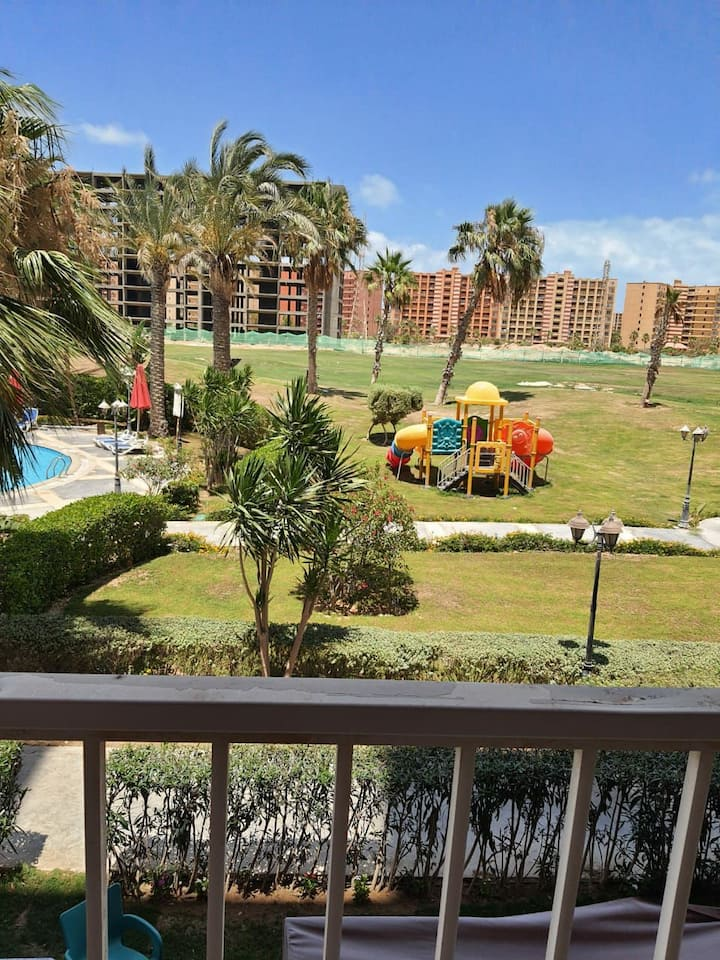 A relaxing flat in golf porto marina VIP zone