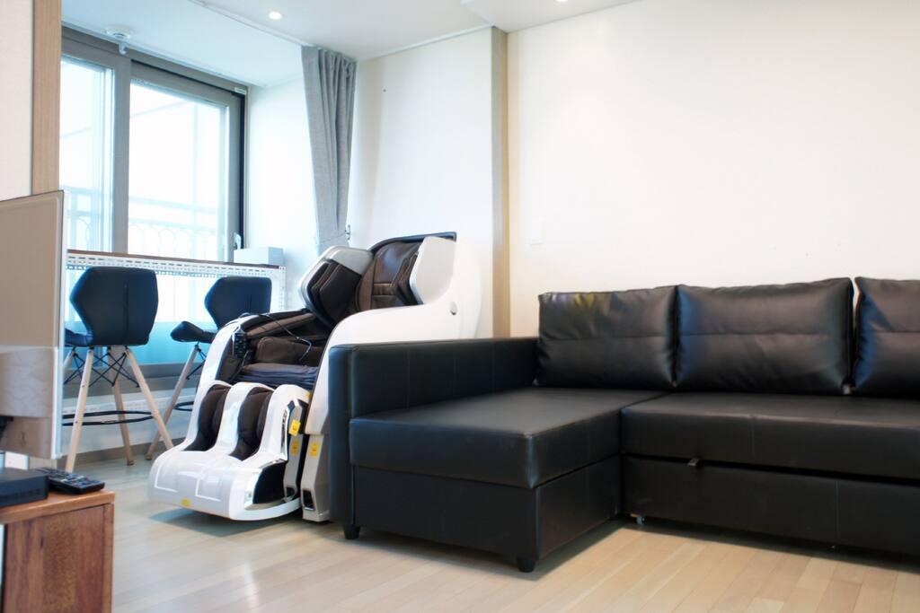 living room(大厅)거실(침실)