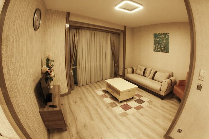 FURNISHED FLAT WITH AC, WIFI, KITCHEN