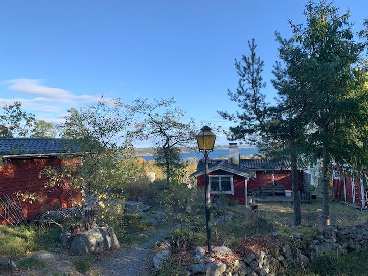 Skärgårdsstugan 20 minuter från Stockholm city