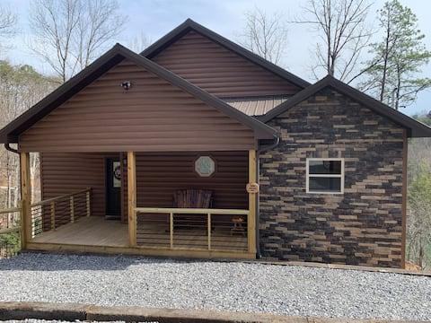 Private new cabin close to local attractions