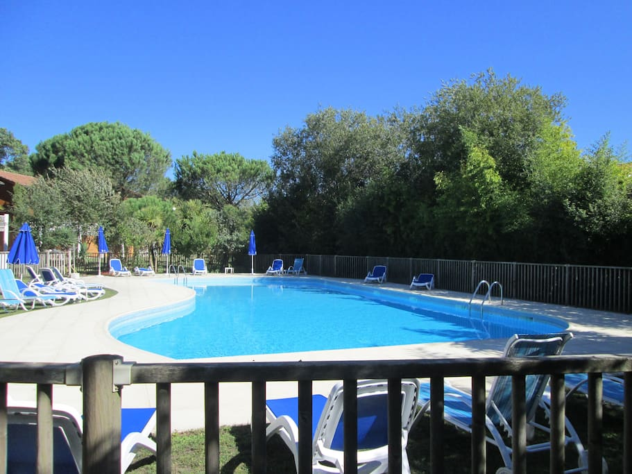 Joli duplex 42m2 4 pers piscine oc an confort for Piscine capbreton