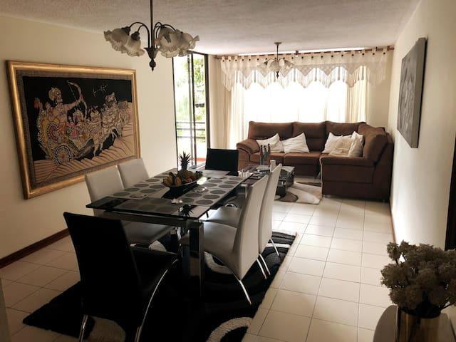 Amplio y acogedor apartamento en Bucaramanga