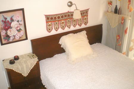 Big and comfortable room with sea view - Kalamaria