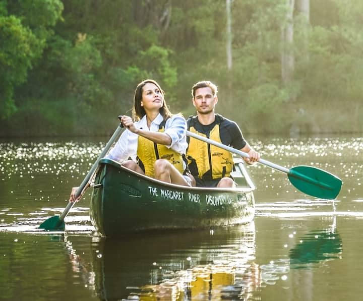 Canoe the beautiful Margaret River