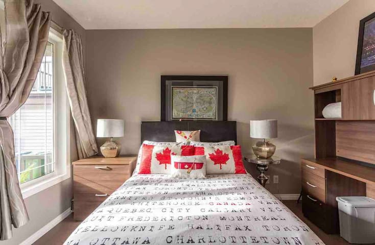 Room /available/ 20min from downtown calgary.