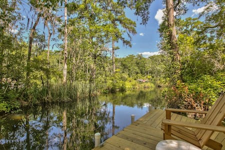 Wakulla River House - Natural beauty on the water