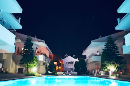 Luxury and pool apartment in the center of Belek
