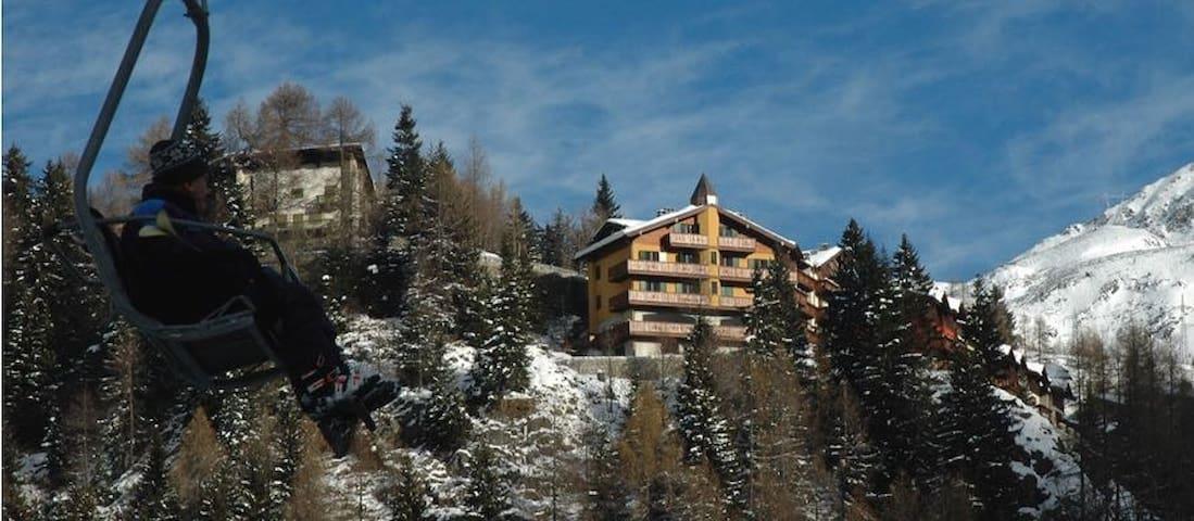 Accogliente Residence in stile alpino - Foppolo - Huoneisto