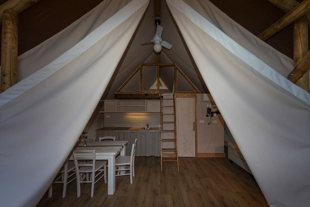 Unique Glamping Tent