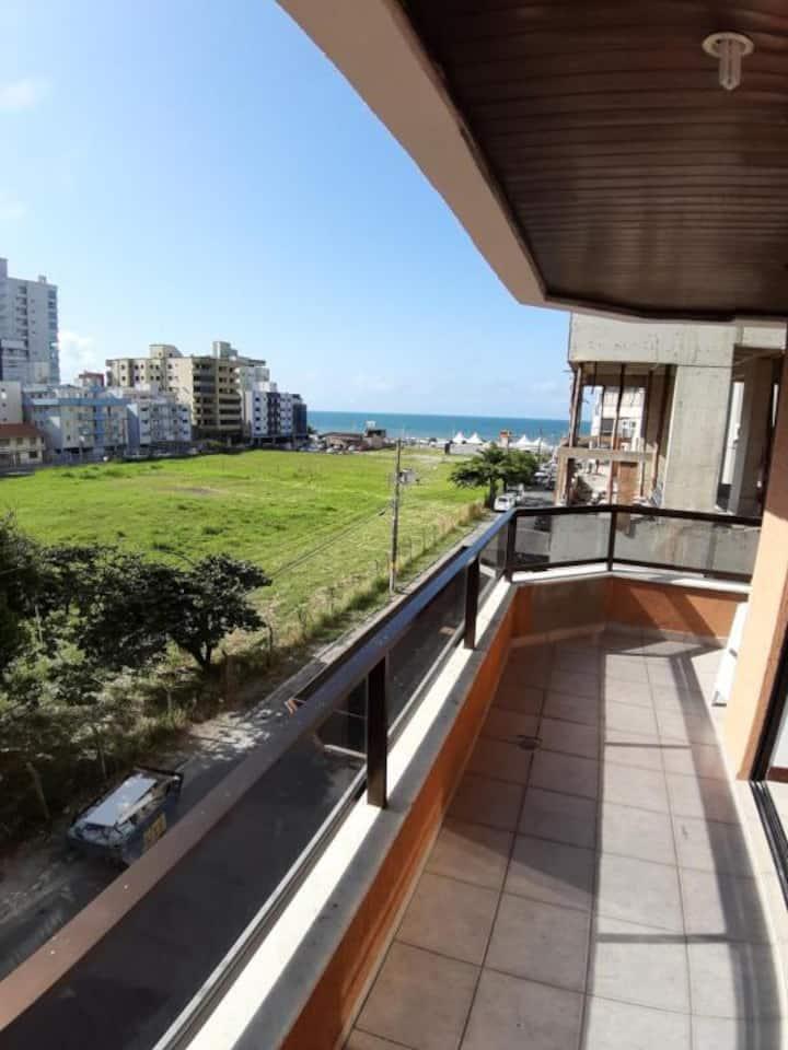 apartamento com visão para o mar