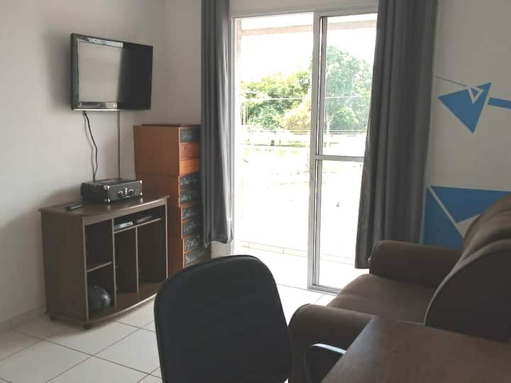 Apartamento 750m da UFSCAR - ESTERILIZADO
