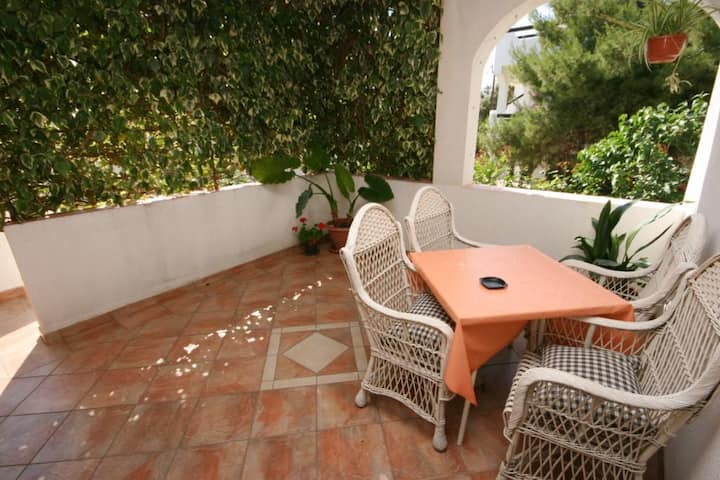 One bedroom apartment with terrace Mandre, Pag (A-523-a)