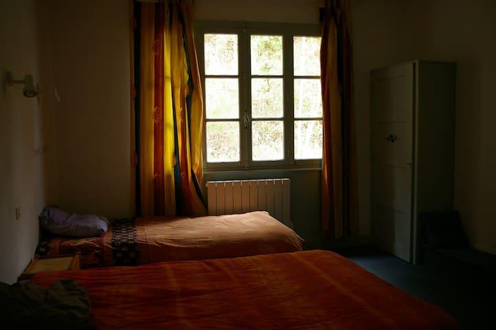 Chambre dans l'ancien hotel du Chateau