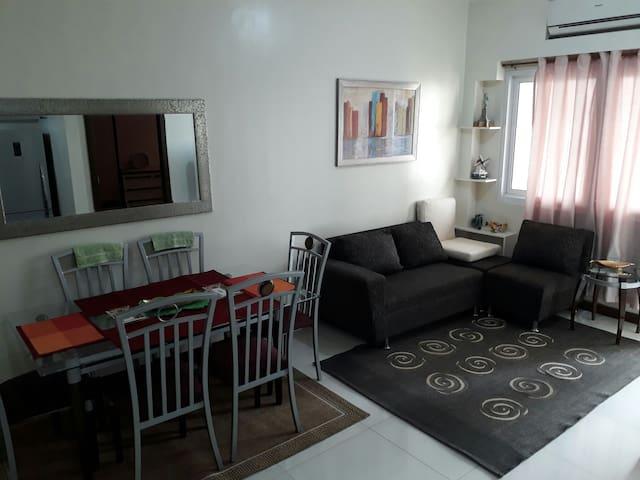 Spacious 1BR unit Fully furnished - Pasig - Apartamento