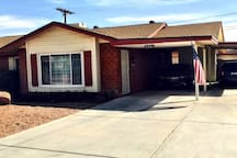 Front of Camelback Casa