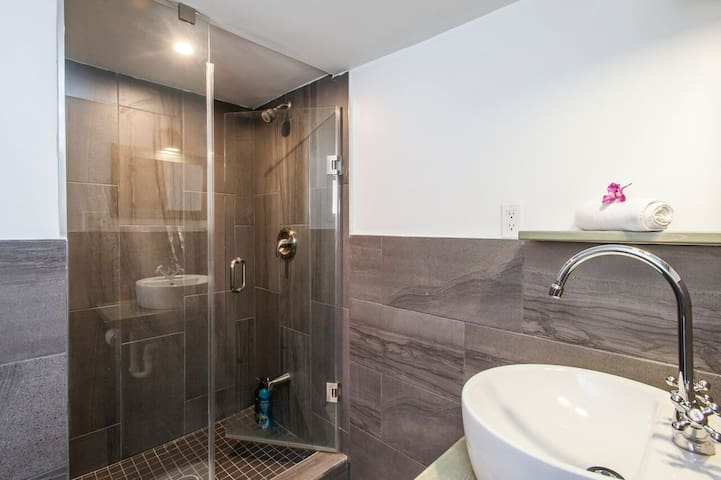 Modern rustic warm cozy suite(水館民宿) (近多倫多大學6公里)