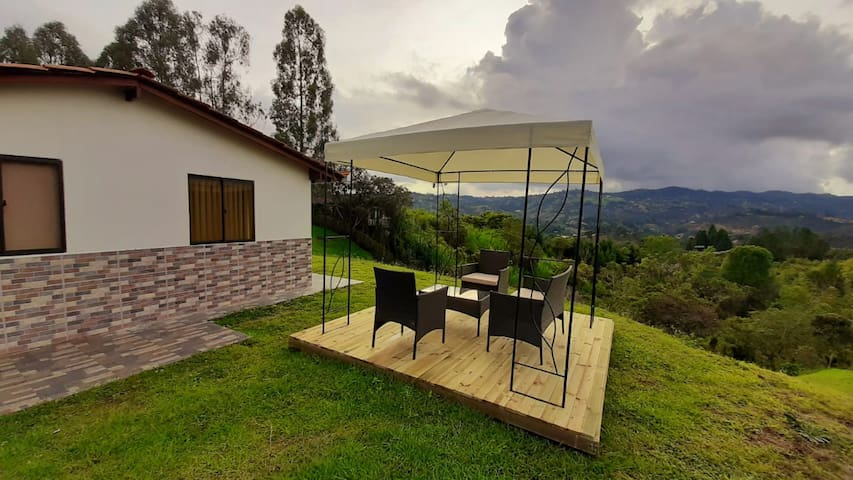 Private Mountainside Bungalow- Guarne—Brand New!