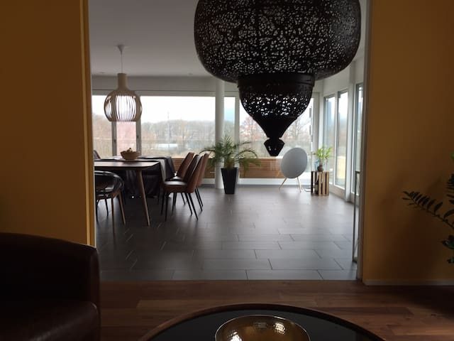 Private room in unique and modern Terrace House.