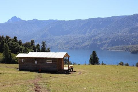 Cabaña con vista al lago Rupanco
